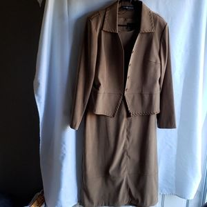 Dress and Over Coat